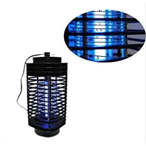 Killer Insect Zapper Bug Mosquito Fly Lamp Electric 110V Trap Swatter Indoor New
