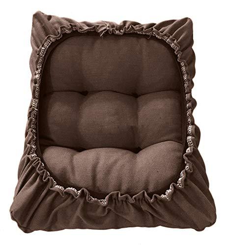 Sigmat Rectangle Bar Stool Cushion Padded Stool Cover Coffee 10