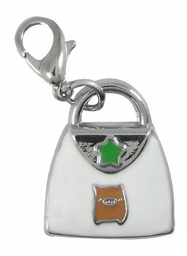 Charm sac à main en acier Par Charming Charms. gratuite jusqu'à 30 £