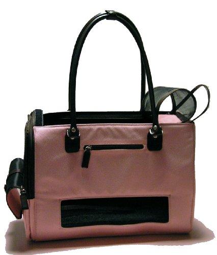 Tragetasche Holiday rosa - Transporttasche für kleine Hunde - sehr komfortabel - Flugzeuggeeignet - Dogs Stars