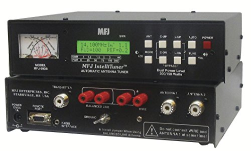 Price comparison product image MFJ Enterprises Original MFJ-993B 1.8 ~ 30 MHz Automatic Antenna Tuner 300 Watts SSB / 150 Watts CW IntelliTuner w/ SWR/Watt Meter.