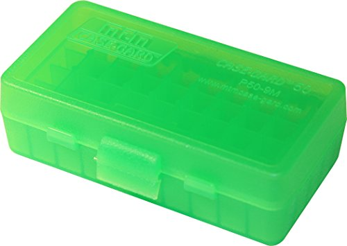 MTM 380/9MM Cal 50 Round Flip-Top Ammo Box