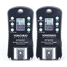 YONGNUO Wireless Flash Trigger & Shutter Release RF-605C RF605C for Canon DSLR 1D/7D/5D,10D/20D/30D/40D/50D series, 60D/70D/400D/500D/600D/700D/1000D series
