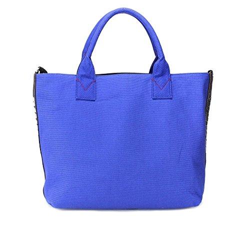Pinko Borsa Shopping Donna 1H20DRY4C9G01 Cotone Blu
