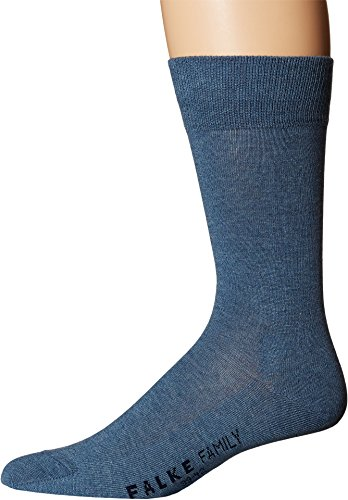 Falke Men's Family Sock, Light Denim, Sock Size:10-13/Shoe Size: ()