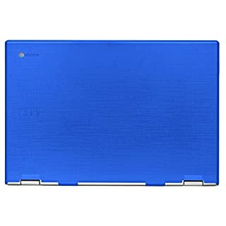 """mCover Hard Shell Case for 2019 15.6"""" Acer Chromebook 15 CB315 Series (NOT Compatible with Older Acer chromebook C910 / CB5-971 / CB3-531 / CB515, etc) Laptop Computer (AC15-CB315-Blue"""