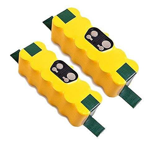 Mighty Max Battery 14.4v NICD 2000MAH Replacement for Roomba 500 Series - 2 Pack Brand Product ()