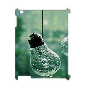 Custom New Case for Ipad 2,3,4 3D, Bulb Phone Case - HL-R683979