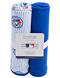 MLB Toronto Blue Jays 2 Pack Infant Receiving Blankets