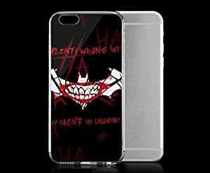 Light weight with strong PC plastic case for iphone 4 4s Comics DC Comics The Joker Plenty Wrong With Me The Joker