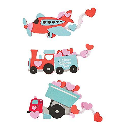 Valentine Transportation Craft Kit