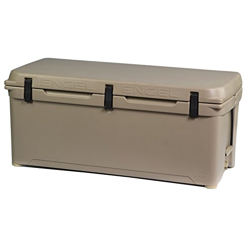 Engel DeepBlue 123 Quart Ice Chest Cooler - Tan