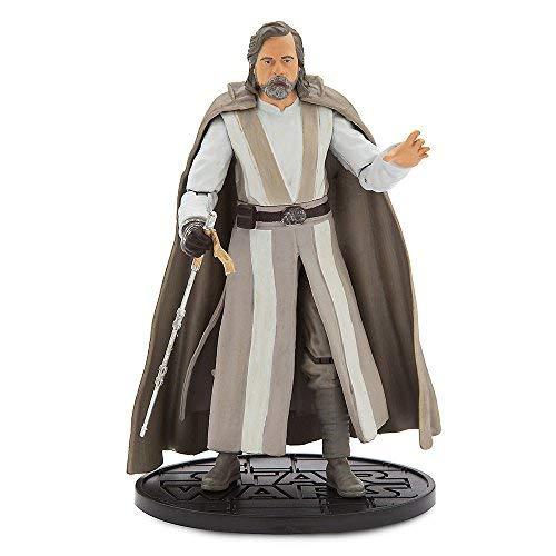 (Star Wars Luke Skywalker Elite Series Die Cast Action Figure - 6 Inch - Star Wars: The Last Jedi)