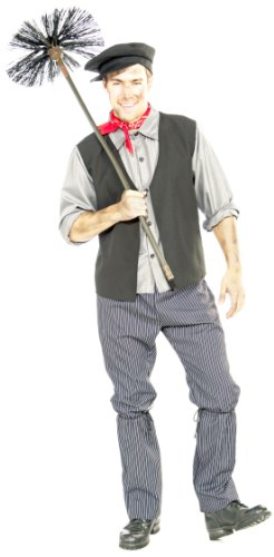 Forum Novelties Men's Chimney Sweep Costume, Multicolor, -