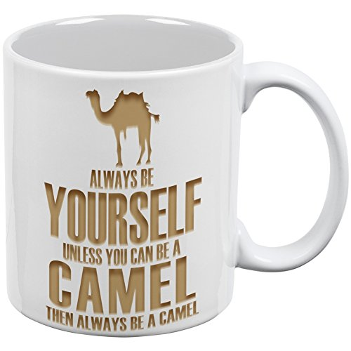 (Always Be Yourself Camel White All Over Coffee)