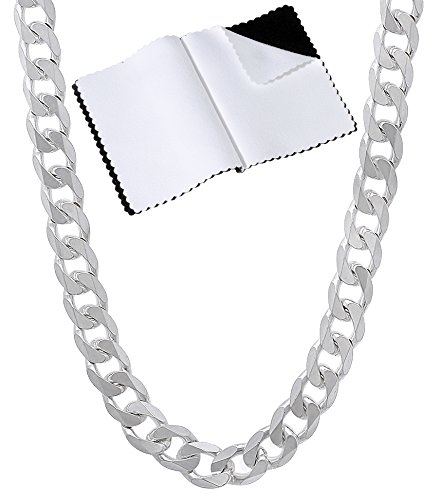 Sterling Silver Beveled Necklace Bracelet product image