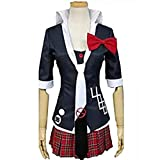 HOLRAN Super Dangan-Ronpa 2 Junko Enoshima Cosplay Costume (Female:Small)