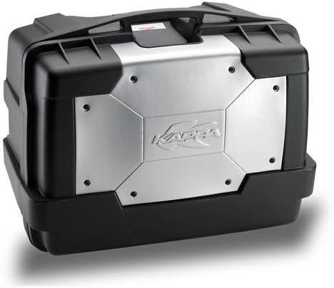 Cover en Aluminio Givi KGR46PACK2 Ba/úl Lateral Cada 46 litros de Volumen y 10 kg de Carga Set de 2 Piezas