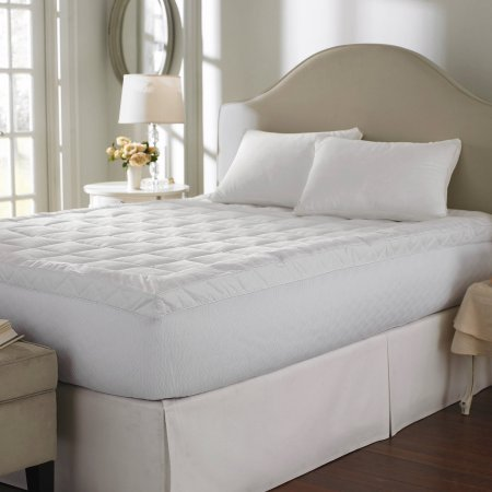 Luxury Basics Cuddle Bed 400-Thread-Count Mattress Topper, TWIN 025695 by Generic