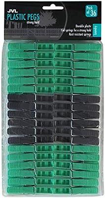 12 pcs//set Clothes storm pegs plastic airer dryer washing line Laundry Hangers