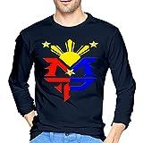 Men's Manny Pacquiao Philippine Flag Logo Custom T