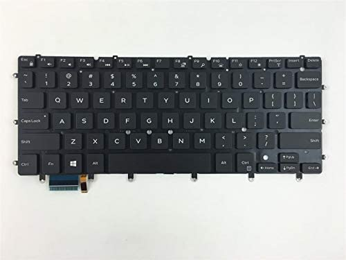 New For DELL Inspiron 7547 7548 7347 7348 Keyboard Backlit SP Spanish Teclado