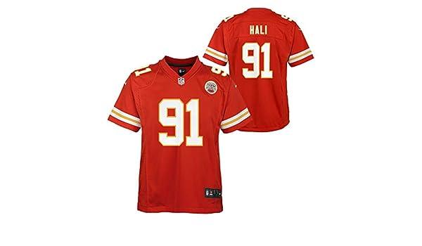 Outerstuff Tamba Hali Kansas City Chiefs Red Home Player Jersey ...