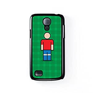Lille Black Hard Plastic Case for Samsung? Galaxy S4 Mini by Blunt Football European + FREE Crystal Clear Screen Protector