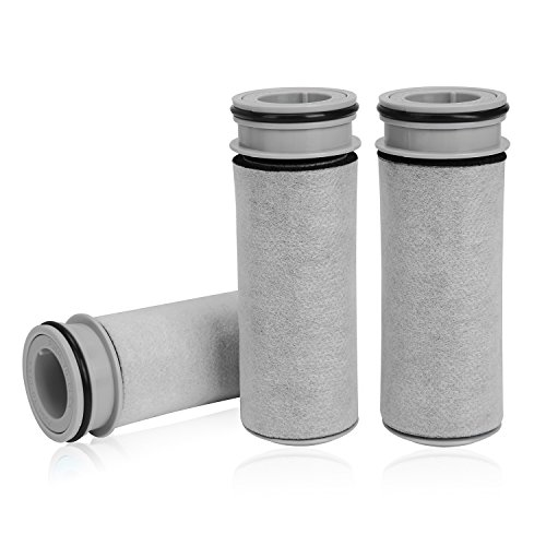3 Pack Water Filter Replacement for Brita Stream Pitcher, JETERY Water Filtration Pitcher Replacement Cartridge, BPA Free by JETERY