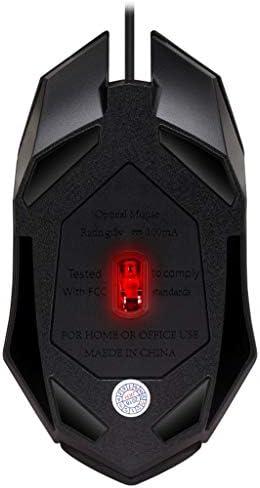 HM2 Souris de Jeu avec Design Ergonomique Souris de Jeu Filaire avec Souris Optique USB