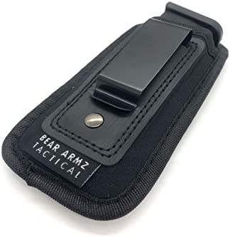 Magazine Pouch 9mm .40 .45 for Glock 19 43 17 Sig 1911 S/&W M/&P Gootus Universal Magazine Holster 2 Pack Fits Any 7 10 15 Round Clips IWB Clip Mag Carrier Holder
