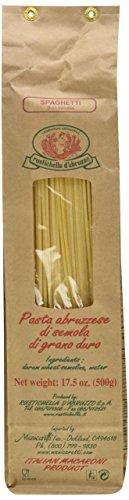Rustichella Dabruzzo Wheat Spaghetti - Rustichella D'Abruzzo, Spaghetti, 500g