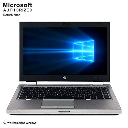 2019 HP EliteBook PC, Intel Core I5 up to 3.1GHz, 8G DDR3, 512G SSD, VGA, DP, USB 3.0, DVD, BT 4.0, WiFi, 14 INCH, Windows 10 64 Bit-Multi-Language(CI5)(Certified Refurbished)