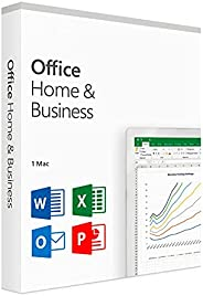 Office 2019 For Mac | Delivery within 24 Hours (Mac DL - link via Amazon Message/Email) | 1 Mac User | One-Tim
