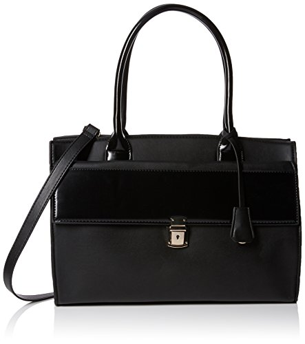 French ConnectionClean Pu Capri tote - Sacchetto Donna Nero (Nero)