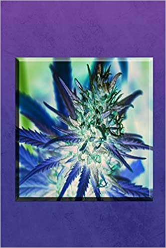 Purple Haze Weed Journal Wide Ruled Journal Notebook With A Happy