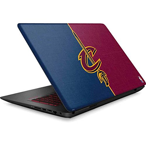 Skinit NBA Cleveland Cavaliers Omen 15in Skin - Cleveland Cavaliers Canvas Design - Ultra Thin, Lightweight Vinyl Decal Protection by Skinit