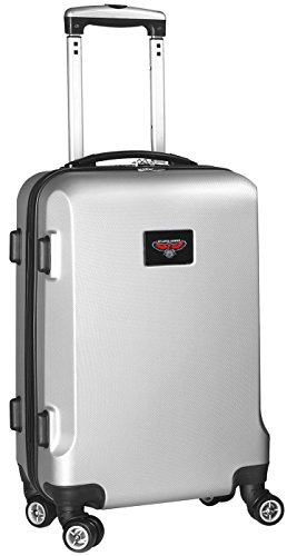 NBA Atlanta Hawks Carry-On Hardcase Spinner, Silver by Denco