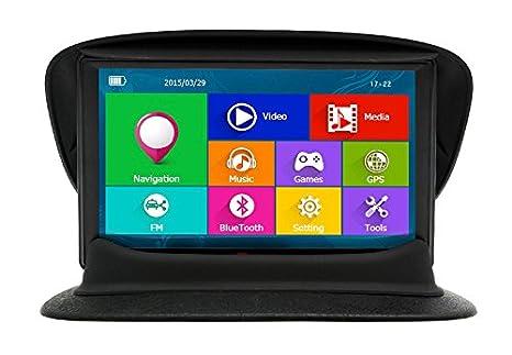 Junsun 7 Pulgadas GPS para Coche Pantalla Táctil Bluetooth AVIN FM 8GB/256MB Actualización Gratis