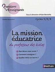 MISSION EDUCATRICE PROF ECOLES