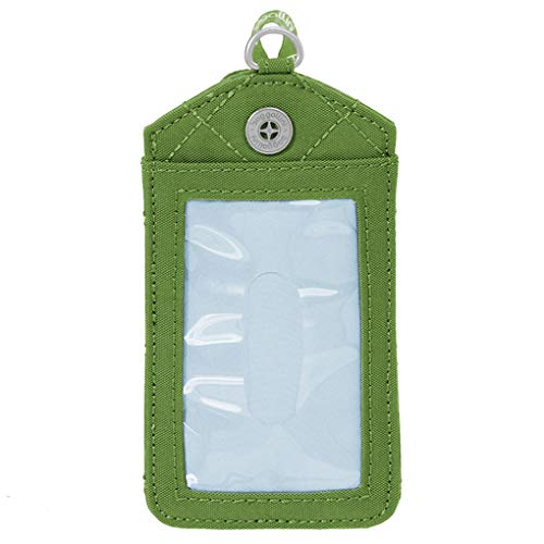 - Baggallini Women's RFID Lanyard Coin Purse, green/kiwi, One Size