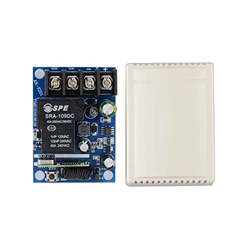 Lejin Wireless Remote Control Switches DC 12V-48V 40A Relay Wide Voltage Receiver 12V 24V Receiver Transmitter 3000W Remote Controller high power remote control control light control motor by Lejin (Image #6)