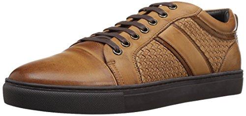 ZANZARA Mens Rhythm Fashion Sneaker Cognac