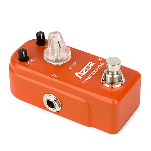 AZOR Compressor Guitar Effect Pedal Super Mini by AZOR