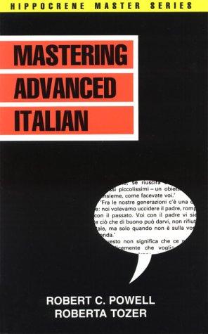 Mastering Italian (Mastering Advanced Italian (Hippocrene Master))