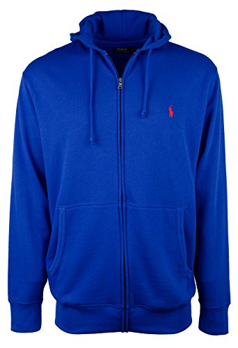 Polo Ralph Lauren Men's Big & Tall Atlantic French Terry Hoodie-DR-XLT by Polo Ralph Lauren