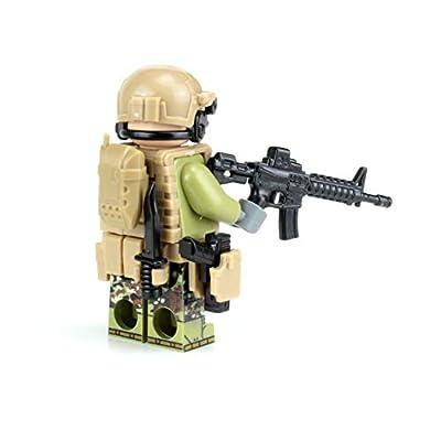 Battle Brick Modern British SAS Commando Custom: Toys & Games
