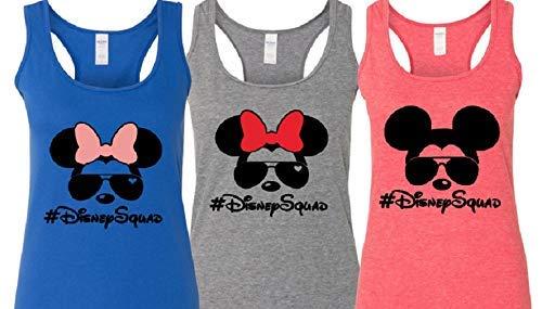 Racerback Women's Tank Top #DisneySquad Shirt Disney Vacation