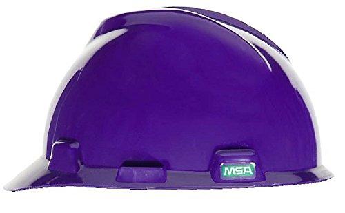 MSA 10057421 V-Gard, Standard Cap 1-Touch Slide Closure, Purple]()