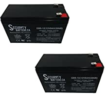 Security Brand Or Similar Replacement For APCRBC123 Battery for APC BX1500G-CA, APC SMT750RM2U